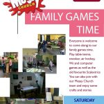 Family Games Time – Saturday 25th November