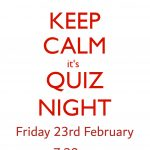 Join us for Quiz Night!