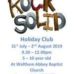 Come  along to our Holiday Club!